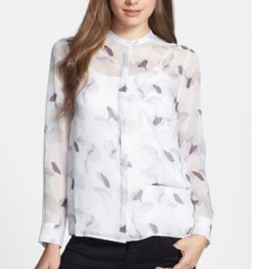 Theory 100% Silk Blouse